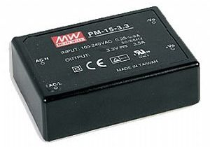15W 5V 3A Encapsulated Medical Power Supply